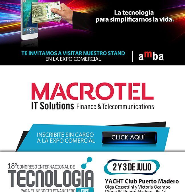 Congreso Internacional de Tecnología 2018 - Macrotel